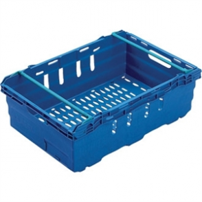 Food Container Polypropylene Blue - 35Ltr 600x400x199mm