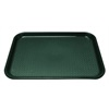 "Kristallon Foodservice Green polypropylene. 350 x 450mm (13.8 x 17.7"")."