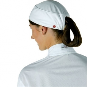 Chef Works Total Vent Womens Beanie White