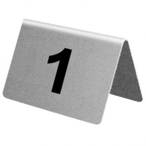 Stainless Steel Table Numbers 21-30