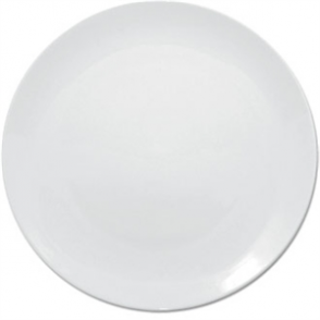 Olympia Whiteware Coupe Plate - 25cm 10 (Box 12)