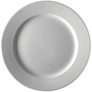 Olympia Linear Wide Rimmed Plate 200mm (Box 12)