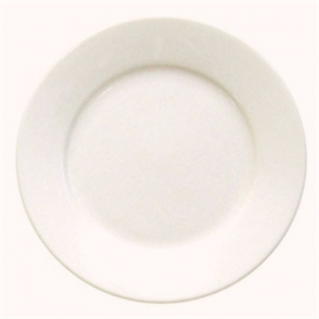 Olympia Ivory Wide Rimmed Plate 20cm 8 (Box 12)