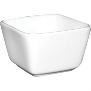 Olympia Whiteware Mini Dish Tall Square White - 75x75x48mm (Box 12)