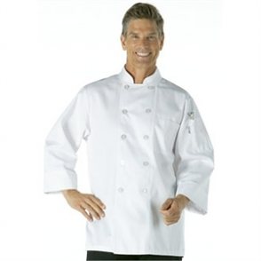 Chefs Jacket by Chef Works, White with Long Sleeves