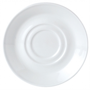 Simplicity White Low Cup Saucer (Box 36)