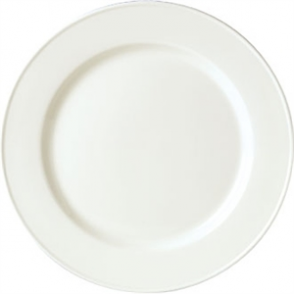 Steelite Simplicity White Slimline Plates 255mm (Box 24)