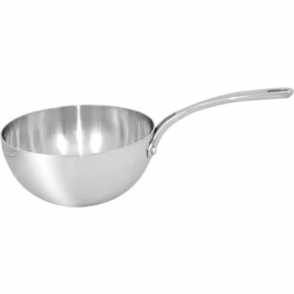 Vogue Tri-wall Flared Saute Pan St/St - 200mm