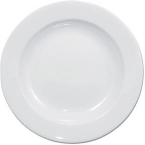 Olympia Whiteware Deep Plate - 27cm 10.75 (Box 6)