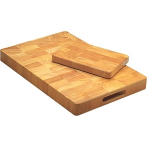 Vogue Wooden Chopping Board - 6x9x1