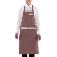 Giblor's Nizza Bib Apron Brown
