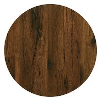 Werzalit Round 800mm Table Top (Antique Oak 316)