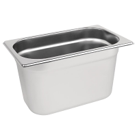 Stainless Steel Gastronorm Pan - 1/4 Size 150mm deep