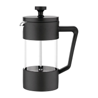 Olympia Cafetiere Black - 3 Cup 350ml
