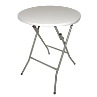 Bolero Foldaway Round Table - 600mm dia