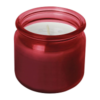 Olympia Jam Jar Candle Red