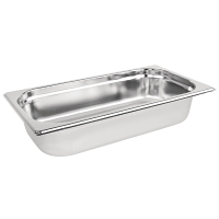 Stainless Steel Gastronorm Pan - 1/3 Size 65mm deep
