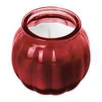 Olympia Pumpkin Jar Candle Red