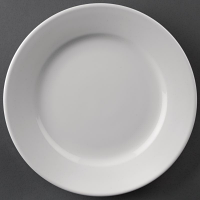 Athena Hotelware Wide Rimmed Plate 165mm ( Box 12)