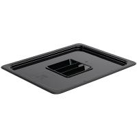 Vogue Polycarbonate 1/2 Gastronorm Lid Black