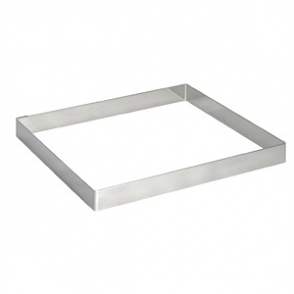 De Buyer Stainless Steel Square Mould 200mm x 20mm