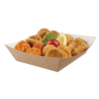 Disposable Kraft Tray Large (500per Pack)