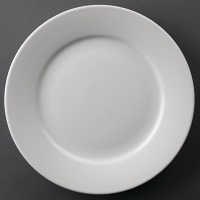 Athena Hotelware Wide Rimmed Plates 228mm (Pack of 12)