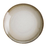 "Olympia Birch Taupe Coupe Plate 10.5"" 250mm (Box 6)"