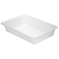 Shallow Food Storage Tray 12in