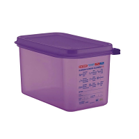 Araven Allergen Container GN - 1/4 4.3Ltr & Airtight Lid