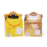 Crafti's Childrens Bizzi Boxes Assorted Zoo Lion & Monkey (Case 200)