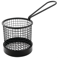 Olympia Basket with Black Handles