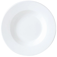 "Simplicity White Pasta Dish - 300mm 11 3/4"" (Box 6)"