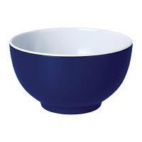 Kristallon Gala Colour Rim Melamine Bowl Blue 125mm