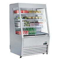 Polar REFRIGERATED Multideck with Lockable Sliding Doors