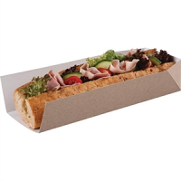 Disposable Open Ended Takeaway Tray 10in (500pp)