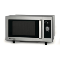 Menumaster Commercial Light Duty Microwave Manual Dial 1000W