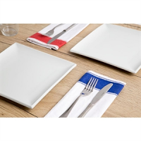 Olympia Gastro Napkins with Blue Border (10pp)