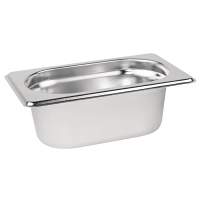 Stainless Steel Gastronorm Pan - 1/9 Size 65mm