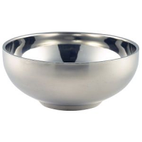 Stainless Steel Double Walled Bowl 13cm