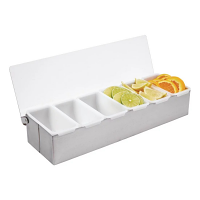 Condiment Box St/St - 6x1pint