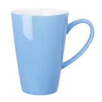 Olympia Cafe Latte Cup Blue - 454ml 16oz (Box 12)