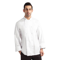 Chef Works Calgary Cool Vent Unisex Chefs Jacket White