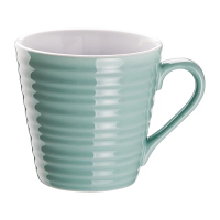 Olympia Café Aroma Mugs Aqua 340ml (Pack of 6)