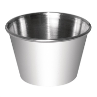 Dipping Pot Stainless Steel 8oz (12pc)