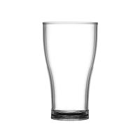 BBP Polycarbonate Nucleated Viking Pint Glasses CE Marked
