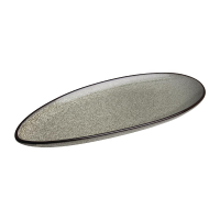 Olympia Mineral Leaf Plate 255mm (Pack of 6)
