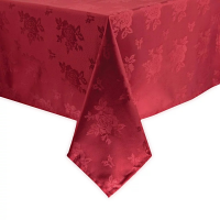 Traditions Tablecloth Burgundy Roslin