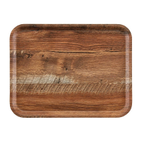 Cambro Wood Grain Tray Madeira 360 x 460mm Brown Oak