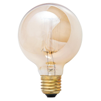 Crystallite 60w ES G80 Squirrel Cage Filament Antique Lamp